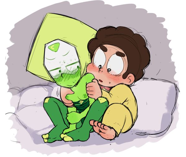 steven universe peridot of pictures from Shrinking woman out of clothes