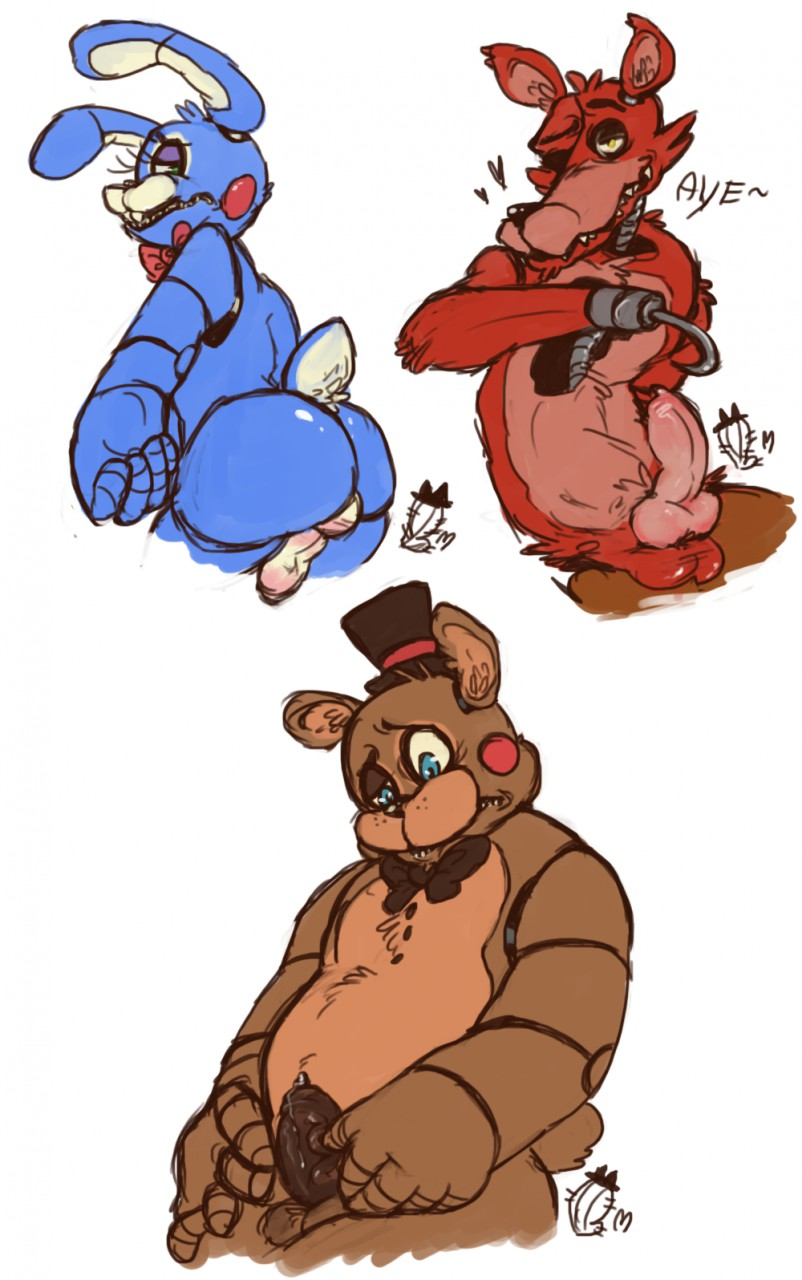 freddy's game anime five at nights Ty the tasmanian tiger shazza