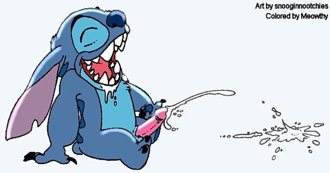 and stitch reuben from lilo Ocarina of time hand monster