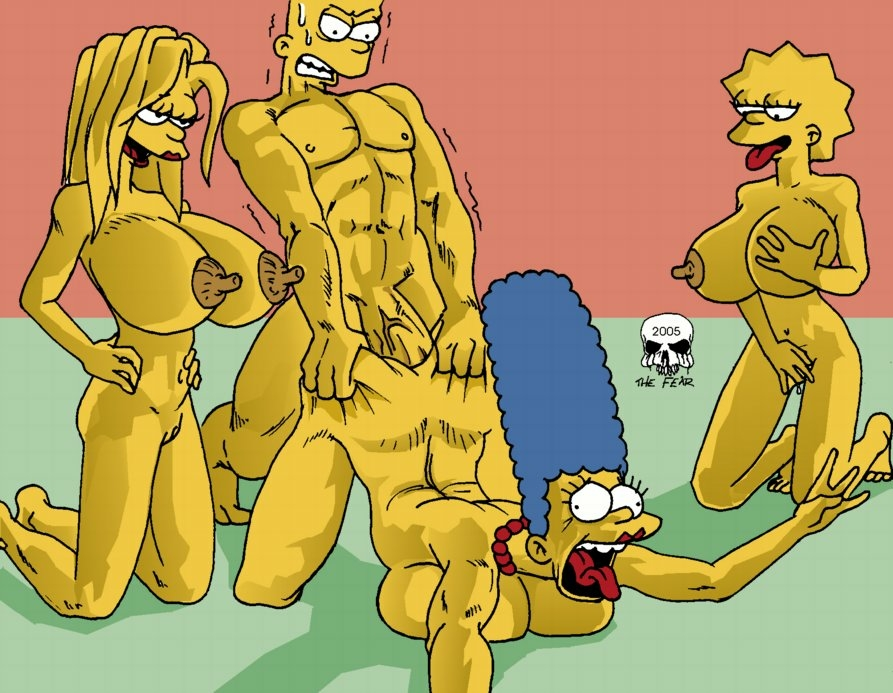 bart with marge simpson naked Pinkie pie and pokey pierce