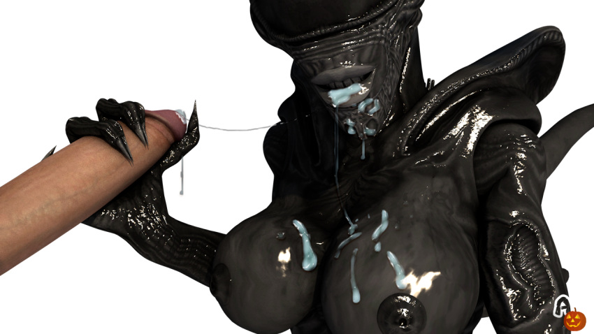 female xenomorph x male human Letho of gulet witcher 3