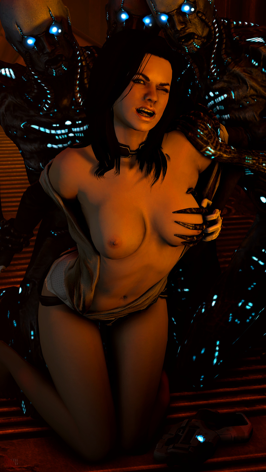 gif effect andromeda porn mass All the way through tentacle hentai