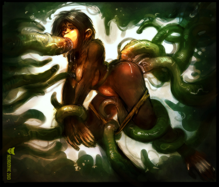 of green secret tentacle mania the Trials in tainted space raskvel